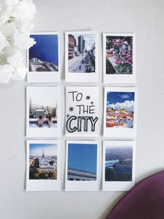 To the city / Polaroid Snap Touch