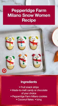 Yummy Cookies, Holiday Cookies, Holiday Baking, Christmas Desserts, Holiday Treats, Holiday Recipes, Christmas Snacks, Xmas Food, Christmas Brunch