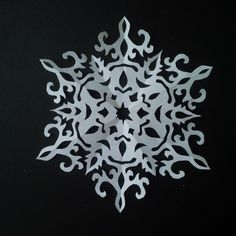 how to make paper snowflake | 5 beautiful snowflake pattern for Christmas - Published on Dec 17, 2015 Making paper snowflakes is easy. In this tutorial, I will show you the best way to make Christmas snowflakes. Additionally, I will show you examples of the paper snowflake patterns. Tip: When you draw a new snowflake pattern, please make sure the left side and right side are connected, so that the cutting does not fall apart. If you enjoy the video, please comment, like, share and subscri