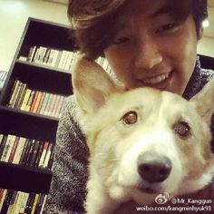 141118 Kang Minhyuk Weibo Update: [Eng Trans] @kangminhyuk91: I have a dog too! just joking..I don't have one at the moment. This is Deelee, cute rite? Deelee I miss you so much