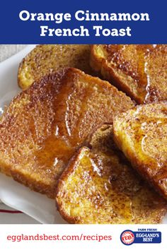 A fun twist to a breakfast classic. Don't forget the syrup! #EgglandsBest #Breakfast #Brunch #Cinnamon #FrenchToast #Recipe
