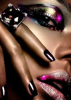Mimi Gif: Beauty Source by nerimankaraca beautiful gif Glitter Gif, Glitter Lip Gloss, Gifs, Beau Gif, Dibujos Tumblr A Color, Easter Nail Art, Fractal, Beautiful Gif, Black Women Art