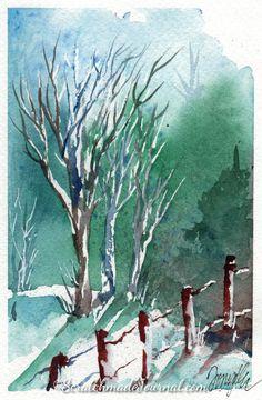 Winter Woodland Scene 2