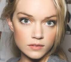 Wedding make up for fair skin tones and blonde hair - love the subtle smoky eye. Description from pinterest.com. I searched for this on bing.com/images