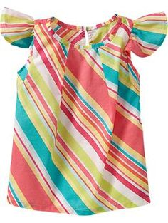 Flutter-Sleeve Tops for Baby (Old Navy)