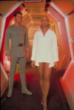 """Commander Willard Decker and Ilia in """"Star Trek - The Motion Picture"""""""