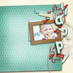 """ From me with love "" by Camomile Designs http://www.godigitalscrapbooking.com/shop/index.php?main_page=product_dnld_info&cPath=29_433&products_id=27146"