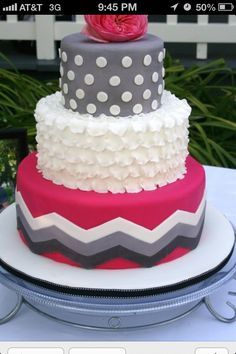 Cake--with a different design