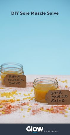 This DIY warming salve is just what your sore muscles need, and it's made with all natural ingredients.