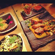 Diwali feast at Roti Chai Indian restaurant. x