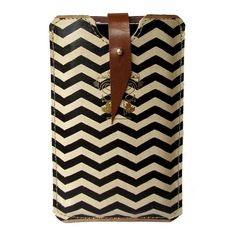 Leather chevron iPhone case