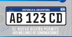 Placa única de veículos do Mercosul entra em vigor na Argentina