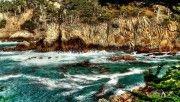 hd turquoise ocean hdr wallpaper download