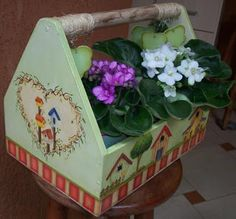 Eliane Artesanato: floreira