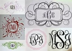 Monogram ideas