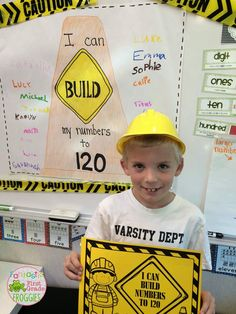 Caution...Builders At Work!  Building numbers to 120.