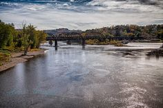 Easton PA, near the confluence of the Leigh and Delaware Rivers, is a great spot for fall pictures. See more http://www.rebeccahaegelephotography.com/Travel/Pennsylvania/Lehigh-County-Pennsylvania/PA-Lehigh-Easton