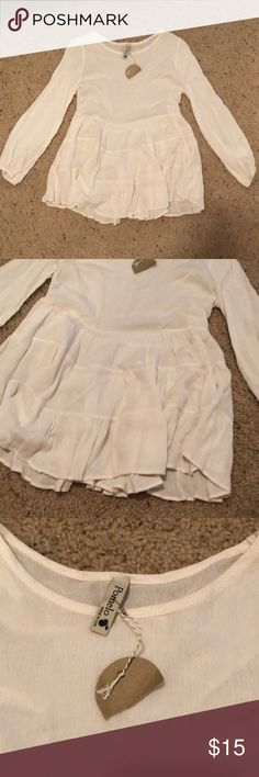 Girls sz medium top Girls sz medium top Pomelo Shirts & Tops Blouses