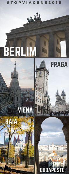 Quer dicas para Berlim, Viena, Praga, Haia e Budapeste! Neste meu novo post, fiz uma retrospectiva de minhas últimas viagens com dicas do que fazer em cada cidade! Veja là!
