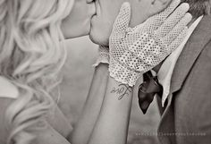Cute tattoo and adorable wedding too!