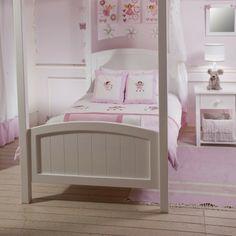 HAMMOND KIDS | Single Kaylen Canopy Bed - Furniture - 5rooms.com
