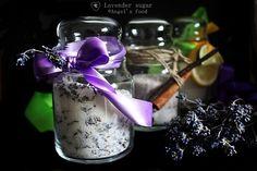 Zahar cu lavanda~Lavender sugar Sugar, Food, Meals, Yemek, Eten