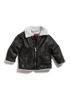 GUESS Kids Boys Toddler Bomber Jacket With Hat, « Clothing Impulse