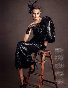 """When It Becomes Dark"" Vogue Japan July 2014"