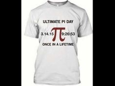 Pi Day 2015 Shirts Here: http://www.sunfrogshirts.com/Shema/happypiday2015