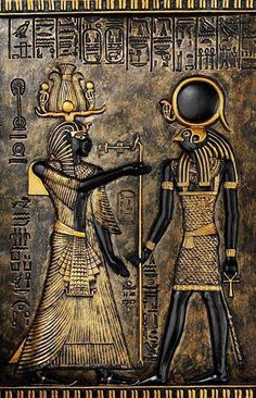 Thoth and Horus