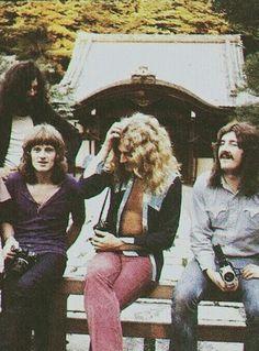 Led Zeppelin in Japan