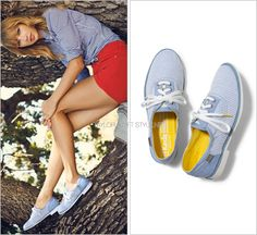 Keds ad | Spring 2014 Keds 'Boyfriend Oxford' - $60.00 Now the question remains did Keds create this oxford for their spring col...