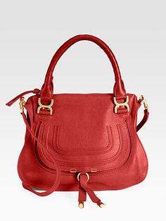 Chloé Marcie Small Satchel Bag. Also in my top five- although the oxblood is a close competitor.