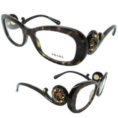 cae200057de Prada VPR On sale now reduced! Made in Italy authentic comes with original  case cloth by Prada. sunglassesnation · Prada 2016 eyeglasses