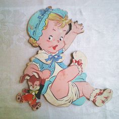 Vintage Dolly Toy Co Nursery Wall Hanging