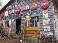 Antiques and coca cola Love it!