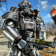 Fallout T-45 Sixth Scale Figure by Threezero - Overview & Commentary. WATCH IT: www.FLYGUY.net  #fallout #t45 #poweramor #powerarmour #fallout4 #threezero #sideshow #toys #toystagram #FLYGUY