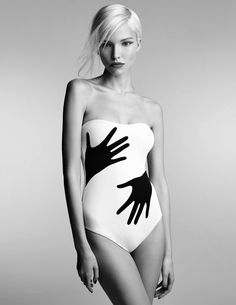 Sasha Luss for Vogue Russia, January 2014. Photographed by: Patrick Demarchelier