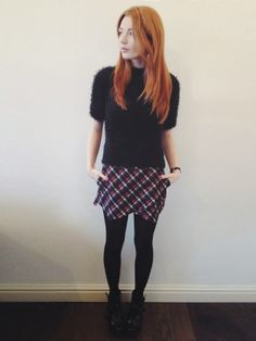 Hannah from http://www.hannahlouisef.com/ wraps it up in our tartan check skort £10.49 including free delivery http://hiddenfashion.com/tartan-check-plaid-print-high-waist-short-skorts-shorts.html