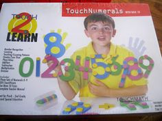 Touch Math First Grade Math Curriculum #hsreview #math #homeschool