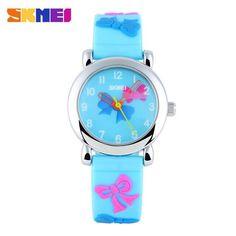 Skmei Children Watch Brand Fashion Casual watches Quartz Wristwatches Waterproof Jelly Kids Clock Boys girls Students Wristwatch