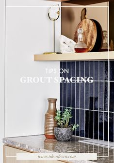Discover new tips on grout spacing from Melbourne-based industry expert Georgia Ezra, owner of Tiles of Ezra and interior design firm Studio Ezra.