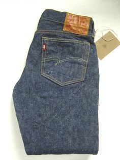 Studio D'Artisan JAPAN S1538XX T1950 Levis The Real Slim Mccoys Denime Jeans 29 #StudioDArtisan #RetroJeans