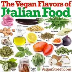 Health: The Vegan Flavors of Italian Food Entree Recipes, Raw Food Recipes, Italian Recipes, Healthy Recipes, Italian Foods, Sauce Recipes, Vegan Vegetarian, Vegetarian Recipes, Vegan Food