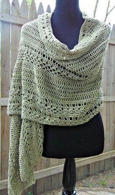 Milan Summer Wrap By Sheri Weber/The Country Willow - Free Crochet Pattern - The perfect summertime wrap!