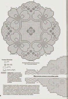 Mary Heklani Radovi I Sheme 288 Crochet Tablecloth Pattern, Crochet Curtains, Crochet Doily Patterns, Thread Crochet, Crochet Designs, Crochet Doilies, Crochet Stitches, Knit Crochet, Filet Crochet Charts