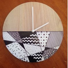 Givememoments Kmart clock hack Kmart Home, Wall Candy, Easy Hacks, House Hacks, Create Space, House Interiors, House Furniture, House Goals, Crafty Projects