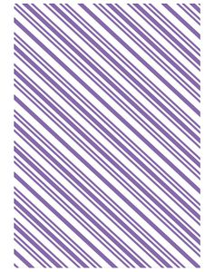 723867  Couture Creations A2 Embossing Folder Christmas Collection Candy Stripe