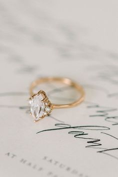 Soft and feminine Styled Shoot The PERFECT ring, just need it in a size 5.5 please and thank you #weddingring