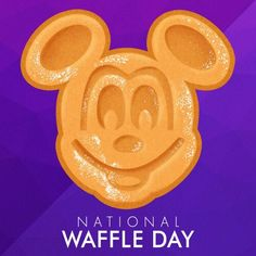 August 24th is National Waffle Day